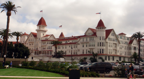 Hotel del Coronado di sapoague, su Flickr