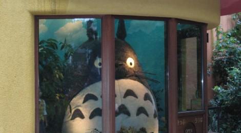 Ghibli Museum Entrance (Totoro) di Manzabar, su Flickr