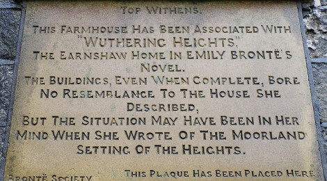 """Top Withins Bronte Society Plaque."" di discover my photographs of calderdale, su Flickr"