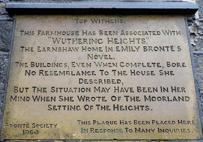 Top Withens plaque