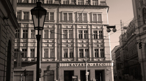 """Kavarna Arco where Kafka and Milena met, Praha"" di pablo.sanchez, su Flickr"