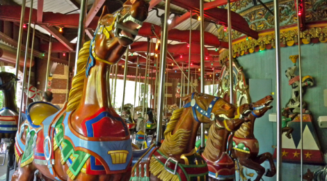 """Central Park Carousel"" by Rebecca Bollwitt, on Flickr"