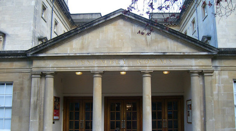 Assembly rooms entrance di Wendy House, su Flickr