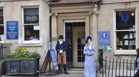 Jane Austen Centre di Brent Pliskow, su Flickr