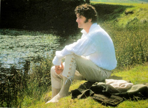 Colin Firth interpreta Mr Darcy. ©BBC, 1995