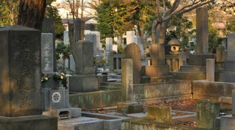 Cimitero di Zōshigaya ©turismoletterario
