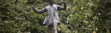 """Peter Pan statue [Kensington Gardens] by Peter Roberts, su Flickr"""