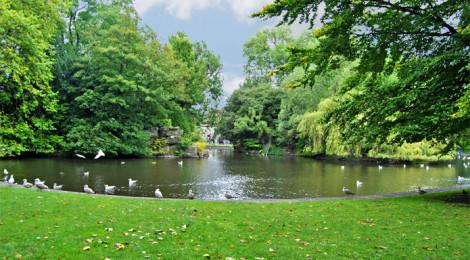 """Il parco di St. Stephen's Green, a Dublino, menzionato nell' """"Ulysses"""""""