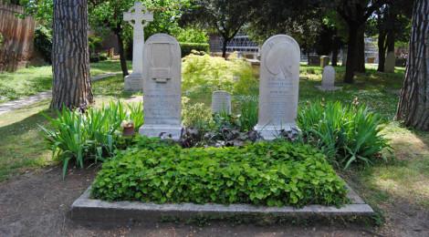 Le tombe di Keats e di Severn ©turismoletterario.com