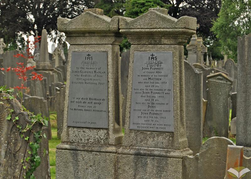 Tomba di James Clarence Mangan, Glasnevin Cemetery