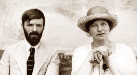 David Herbert Lawrence e la moglie Frieda