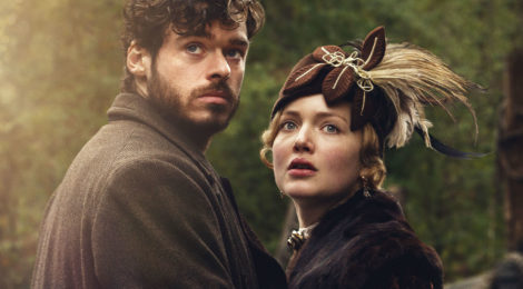 "Un'immagine tratta dalla versione BBC (2015) de ""L'amante di Lady Chatterley"" con Holliday Grainger e Richard Madden"