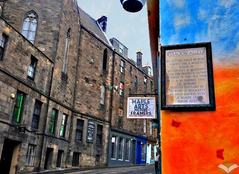 Candlemaker row, Edimburgo