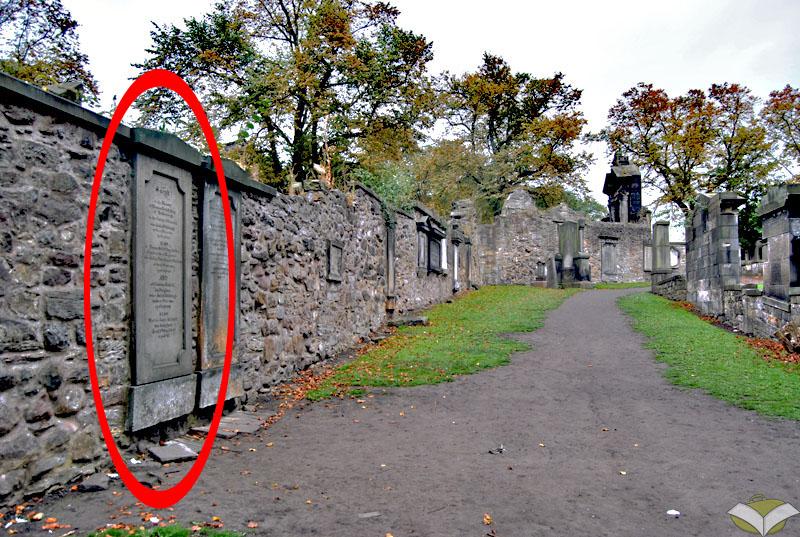 Tomba di Thomas Riddell, Greyfriars Kirkyard