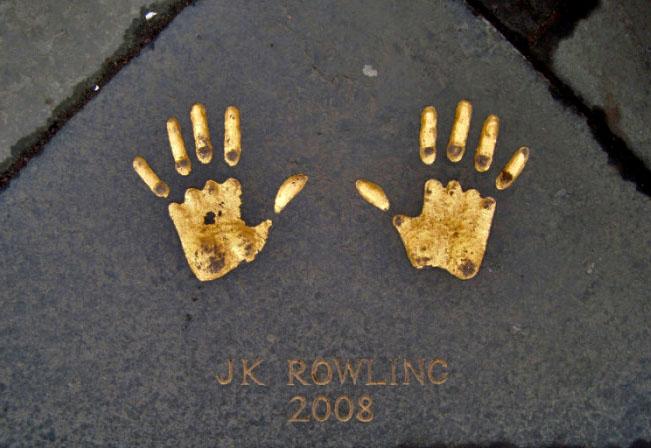 L'impronta delle mani di J.K. Rowling