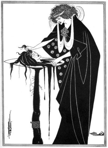 Un'illustrazione della Salomè di Wilde realizzata da Aubrey Beardsley
