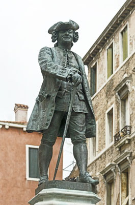 Monument to Carlo Goldoni (Venice)