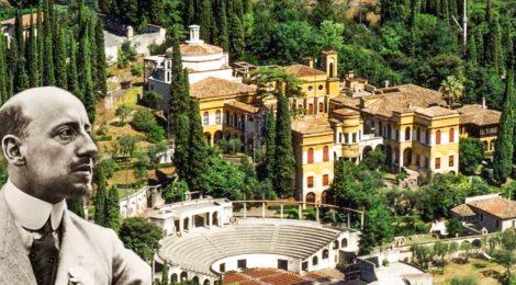 Da villa a Vittoriale: la monumentale dimora di D'Annunzio a Gardone Riviera