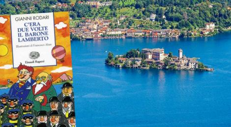 Una gita al Lago d'Orta con Gianni Rodari e il Barone Lamberto