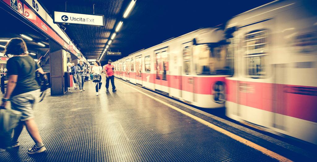 Metro Rossa M1 di Milano