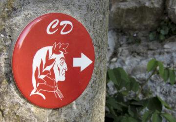 Segnavia del Cammino di Dante