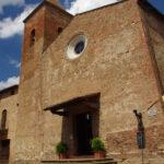 certaldo, chiesa dei ss iacopo e filippo