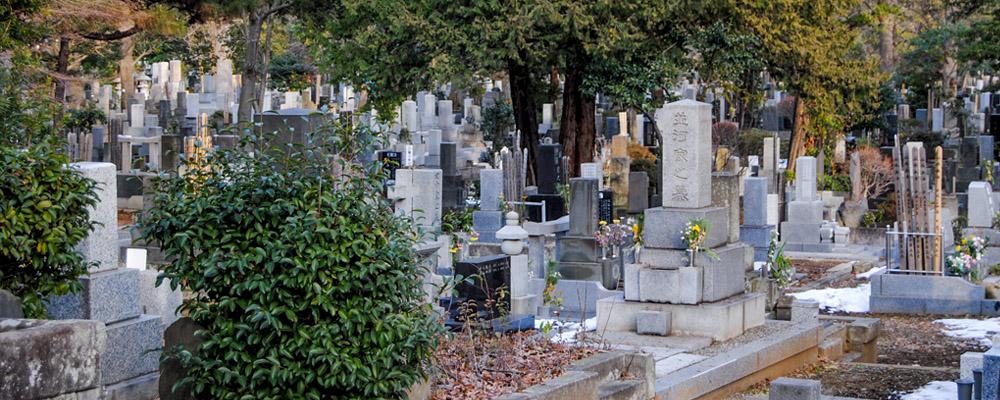 Cimitero di Zoshigaya, Tokyo