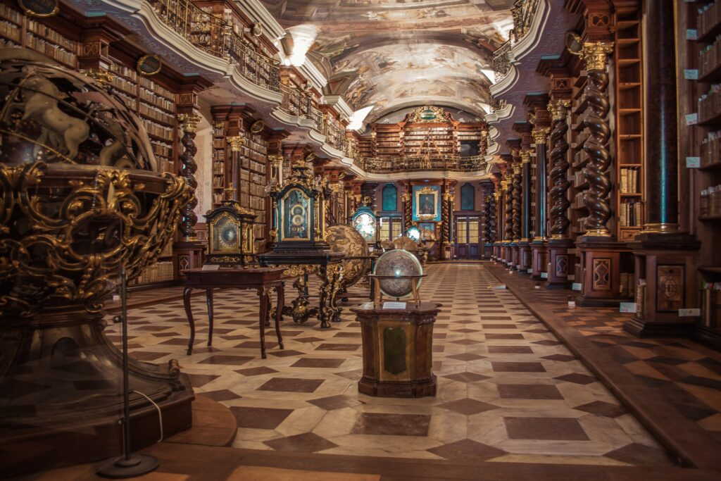 Il Klementinum, la Biblioteca Nazionale di Praga