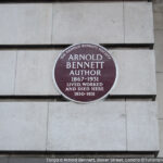 Targa Arnold Bennett, Londra