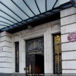 Targa a H.G Wells, Londra