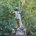 Statua di Peter Pan, Kensington Gardens, Londra