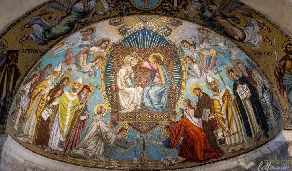 Il catino absidale nell'abbazia di San Gaudenzio
