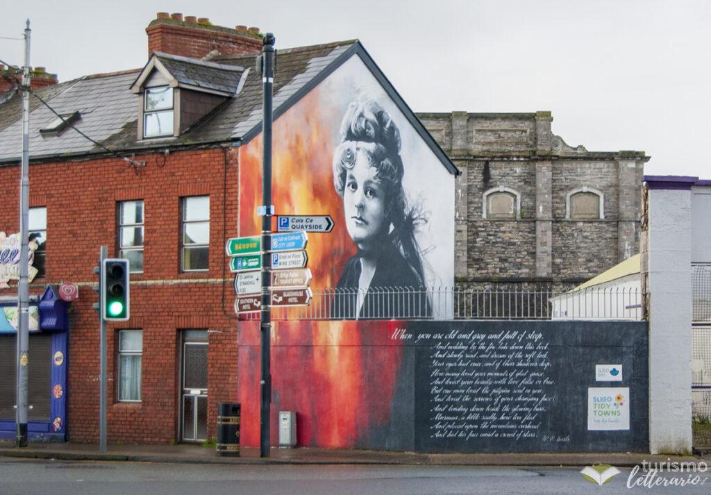 Murale Maud Gonne, Sligo