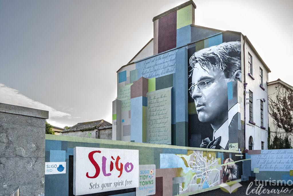 Murale Yeats, Sligo