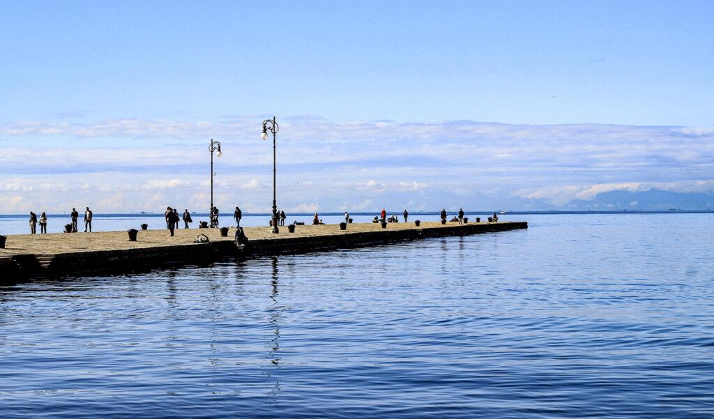 Molo Audace, Trieste