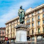Statua a Parini, Milano